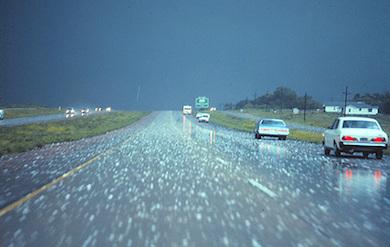 hail storm in OKC